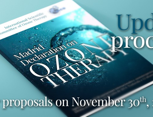 THE PROCESS OF UPDATING THE MADRID DECLARATION ON OZONE THERAPY CONTINUES
