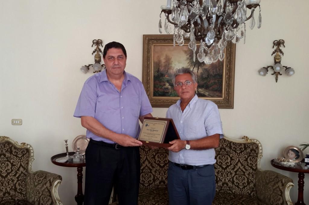 Mr. Sherif Mawsouf (brother) and Dr. Fadi Sabbah