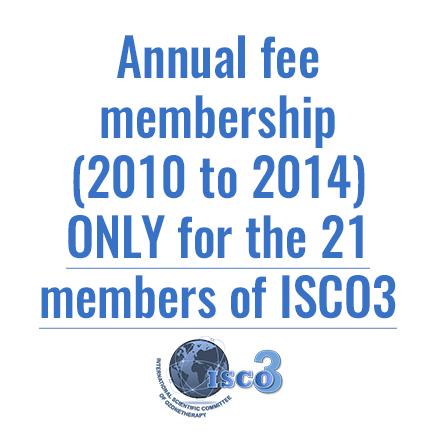 Annual fee membership (2010 to 2014)