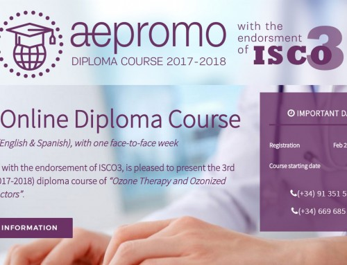 Third Online and bilingual (English & Spanish) Diploma Course of Ozone Therapy