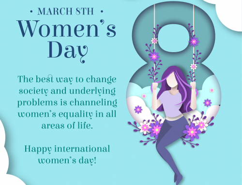 March 8: Happy International Women's Day!