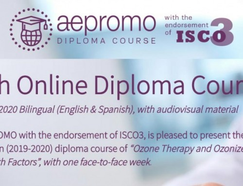 Ended the 5th Diploma Course of Ozone Therapy Organized by AEPROMO